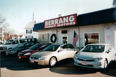 Berrang Family Motors- Route 50 East, Exit 43A - We sell top quality, hand picked used cars, used vans and used trucks.